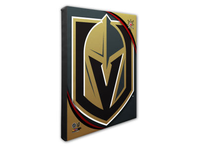 Vegas Golden Knights Photo File Team Logo 20 x 24 Canvas Photo
