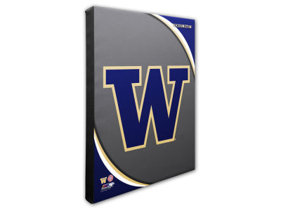 Washington Huskies Photo File Team Logo 20 x 24 Canvas Photo