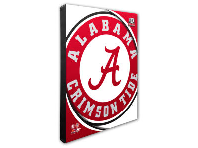 Alabama Crimson Tide Photo File Team Logo 20 x 24 Canvas Photo