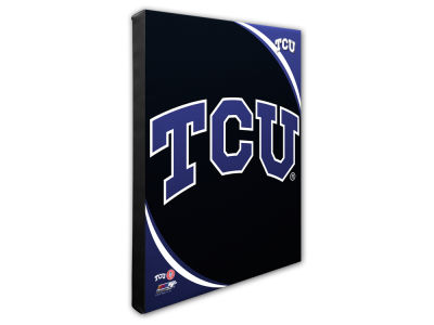 Texas Christian Horned Frogs Photo File Team Logo 20 x 24 Canvas Photo