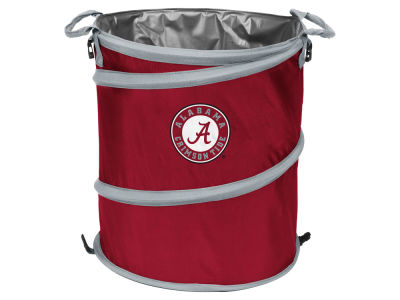 Alabama Crimson Tide Logo Brands Collapsible 3-in-1 Cooler Hamper Wastebasket