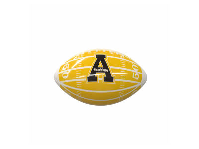 Appalachian State Mountaineers Logo Brands Mini-Size Glossy Football