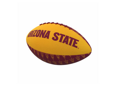Arizona State Sun Devils Logo Brands Mini-Size Rubber Football