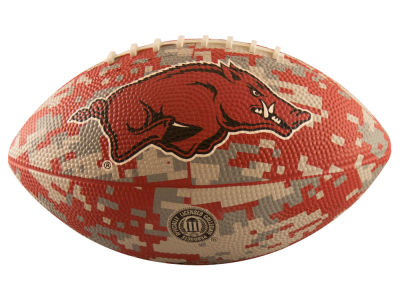 Arkansas Razorbacks Logo Brands Mini-Size Rubber Football