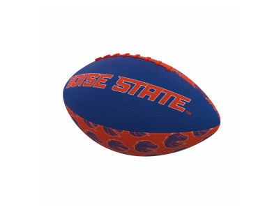 Boise State Broncos Logo Brands Mini-Size Rubber Football