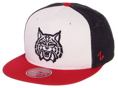 7d68e10b288 Arizona Wildcats Zephyr NCAA Team Color Meshback Snapback Cap