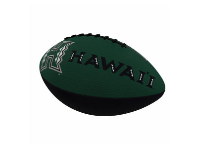 Hawaii Warriors Logo Brands Junior-Size Rubber Football