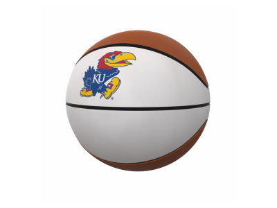 Kansas Jayhawks Logo Brands Official-Size Autograph Basketball