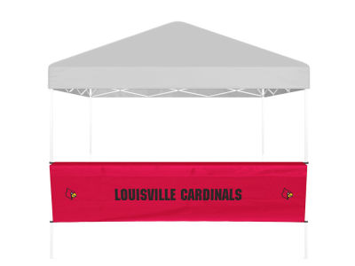Louisville Cardinals Logo Brands Half Side Panel / Bartop Table Cover