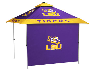 LSU Tigers Logo Brands Pagoda Canopy and Side Panel