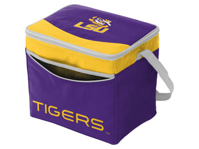 LSU Tigers Logo Brands Blizzard 24 Pack Cooler