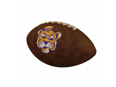 LSU Tigers Logo Brands Official-Size Vintage Football
