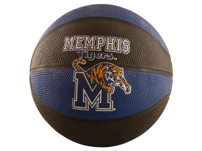 Memphis Tigers Logo Brands Mini-Size Rubber Basketball