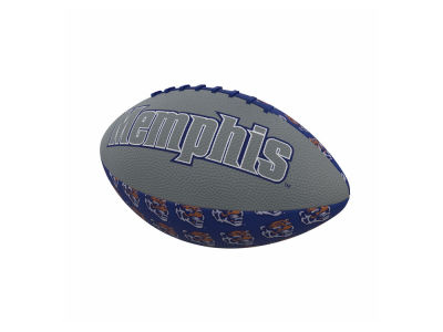 Memphis Tigers Logo Brands Mini-Size Rubber Football