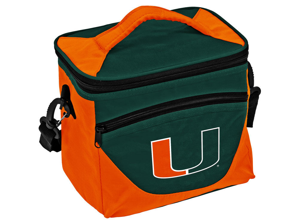 Miami Hurricanes Logo Brands Halftime Lunch Cooler