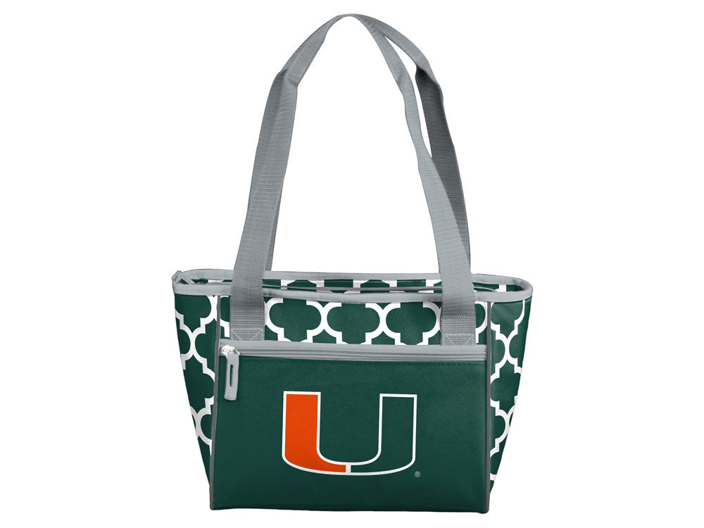 Miami Hurricanes Logo Brands 16 Can Cooler Tote