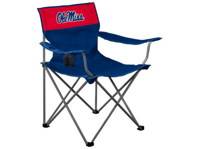 Ole Miss Rebels Logo Brands Folding Chair