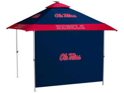Ole Miss Rebels Logo Brands Pagoda Canopy and Side Panel