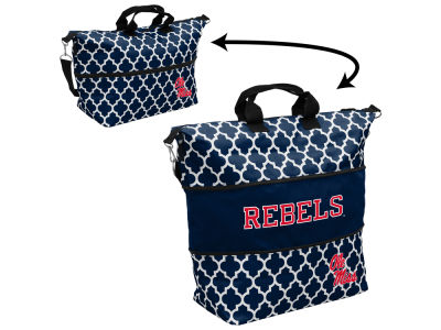Ole Miss Rebels Logo Brands Expandable Tote