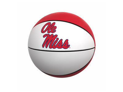Ole Miss Rebels Logo Brands Official-Size Autograph Basketball