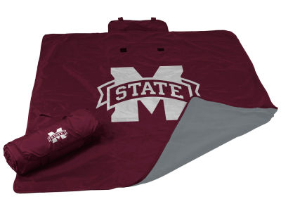 Mississippi State Bulldogs Logo Brands All Weather Blanket