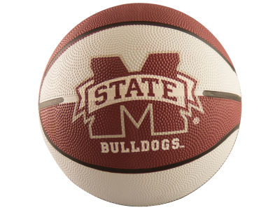 Mississippi State Bulldogs Logo Brands Mini-Size Rubber Basketball