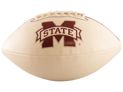 Mississippi State Bulldogs Logo Brands Full-Size Autograph Football