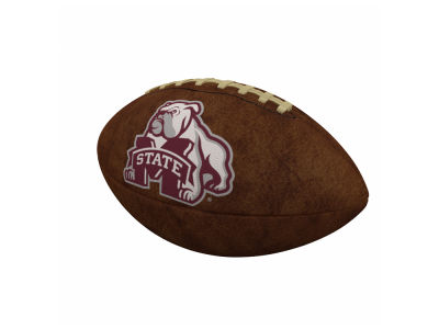Mississippi State Bulldogs Logo Brands Official-Size Vintage Football