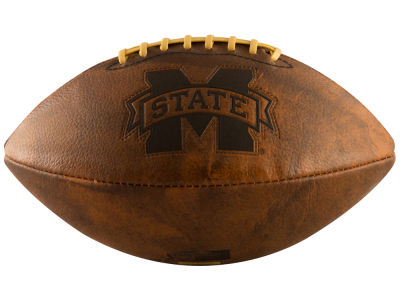 Mississippi State Bulldogs Logo Brands Full-Size Vintage Football
