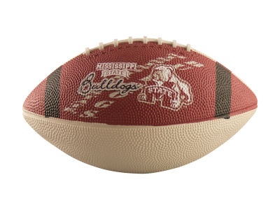 Mississippi State Bulldogs Logo Brands Junior-Size Rubber Football