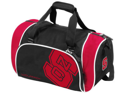 North Carolina State Wolfpack Logo Brands Locker Duffel Bag
