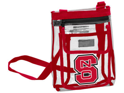 North Carolina State Wolfpack Logo Brands Gameday Clear Crossbody Bag
