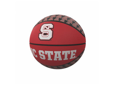 North Carolina State Wolfpack Logo Brands Mini-Size Rubber Basketball
