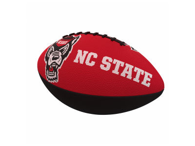 North Carolina State Wolfpack Logo Brands Junior-Size Rubber Football