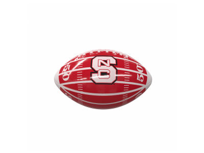 North Carolina State Wolfpack Logo Brands Mini-Size Glossy Football
