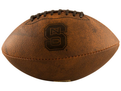 North Carolina State Wolfpack Logo Brands Mini Size Leather Football