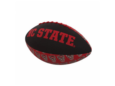 North Carolina State Wolfpack Logo Brands Mini-Size Rubber Football
