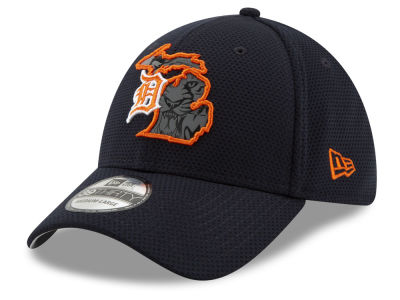 new style 3bf50 2523d Detroit Tigers New Era MLB State Flective 2.0 39THIRTY Cap