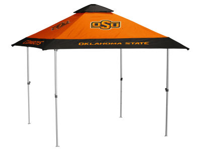 Oklahoma State Cowboys Logo Brands Pagoda Canopy - No Lights
