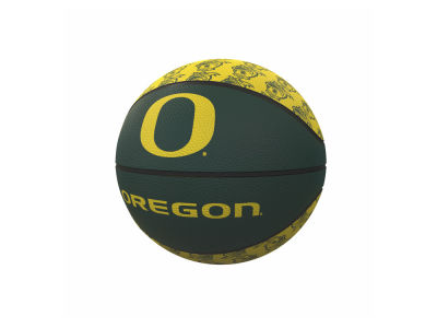 Oregon Ducks Logo Brands Mini-Size Rubber Basketball