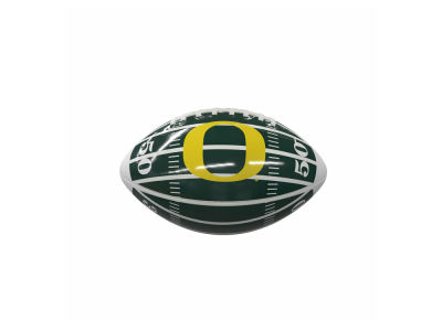 Oregon Ducks Logo Brands Mini-Size Glossy Football