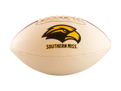 Southern Mississippi Golden Eagles Logo Brands Full-Size Autograph Football