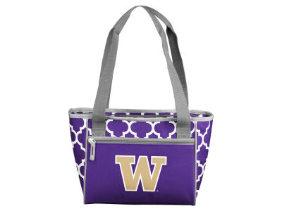 Washington Huskies Logo Brands 16 Can Cooler Tote