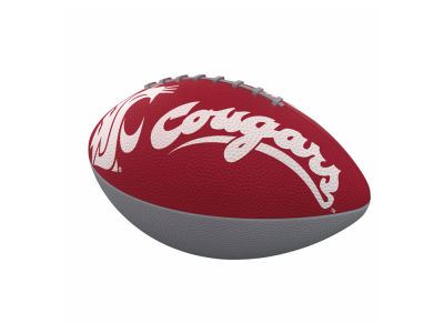 Washington State Cougars Logo Brands Junior-Size Rubber Football