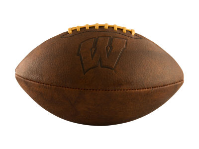 Wisconsin Badgers Logo Brands Full-Size Vintage Football