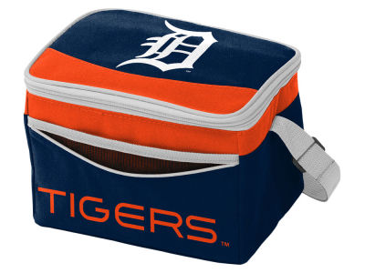 Detroit Tigers Logo Brands Blizzard 6 Pack Cooler