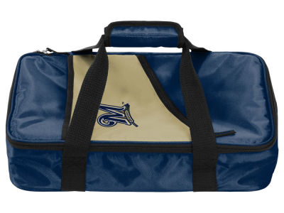 Milwaukee Brewers Logo Brands Tailgate Casserole Caddy