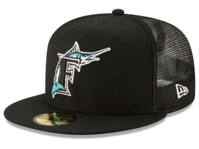 Florida Marlins New Era MLB Coop All Day 59FIFTY Cap 4be2f9ab8153