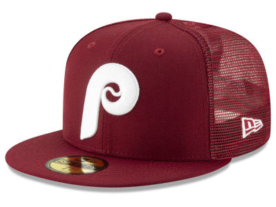 Philadelphia Phillies New Era MLB Coop All Day 59FIFTY Cap e02e0a80599