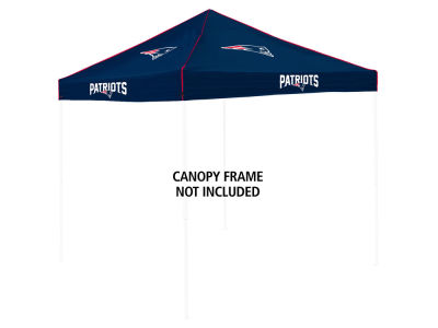 New England Patriots Logo Brands Colored Canopy Top